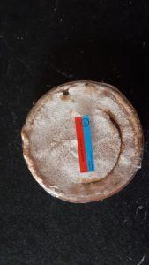torta amaretto con marmellata di lampone